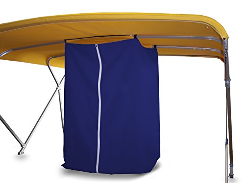Privacy Station - Drop Down for Bimini Top (Blue)